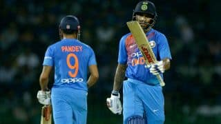 Nidahas Trophy 2018: Kusal Perera's innings took the game away from us, says Shikhar Dhawan