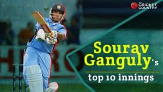 Sourav Ganguly's top 10 innings in international cricket