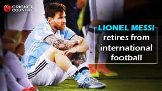 Lionel Messi retires from international football!