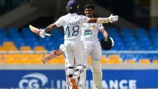 WI vs SL: Pathum Nissanka के शतक से वेस्टइंडीज पर दहाड़ा श्रीलंका, दिया 375 रन का टारगेट