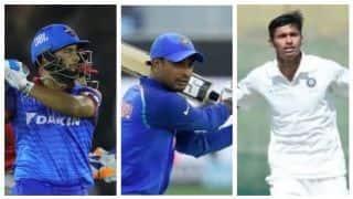 पंत, रायडू और नवदीप सैनी विश्व कप के लिए भारत के स्टैंड बाई