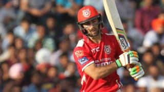 Kings XI Punjab on course for a big score against Kolkata Knight Riders in Match 44 of IPL 2015
