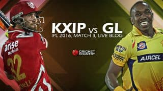 GL 162/5 in 17.4  overs | Live Cricket Score Kings XI Punjab vs Gujarat Lions, IPL 2016