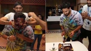 Happy Birthday Rishabh Pant: wicketkeeper shares birthday bash pictures with fans