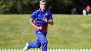 New Zealand Pacer Kyle Jamieson in Line For ODI Debut Against India