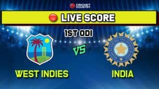 Highlights: India vs West Indies, 1st ODI results: Match abandoned due to rain