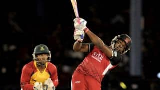 CPL 2014: Trinidad & Tobago Red Steel cruise to comfortable 9-wicket win over St Lucia Zouks