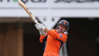 Netherlands enter record books with stunning 6-wicket win over Ireland in ICC World T20 2014