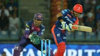 Delhi Daredevils set 163-run target vs Rising Pune Supergiants in IPL 2016