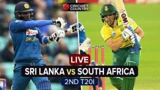 South Africa vs Sri Lanka, 2nd T20I at Johannesburg, Live Cricket Score; Mathews guides SL home in tight chase