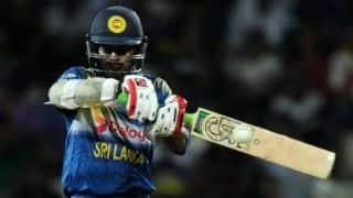 Sri Lanka recall Dinesh Chandimal, Lahiru Thirimanne for ODIs vs India after Upul Tharanga's 2-match ban