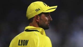 Nathan Lyon hopeful for featuring in next year's one-day World Cup
