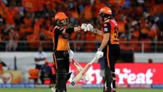 VIDEO: KKR slump to fifth straight loss as Warner, Bairstow star in another crushing Sunrisers win