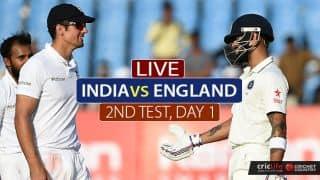 LIVE Cricket Score, India vs England 2nd Test, Day 1 at Visakhapatnam: Kohli reaches 150