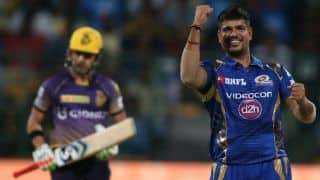 Karn Sharma, Jasprit Bumrah-inspired Mumbai Indians (MI) dismantle Kolkata Knight Riders (KKR) for 107 in IPL 2017 Qualifier 2