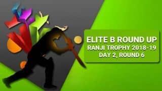 Ranji Trophy 2018-19, Elite Group B: Gill nears double century as Punjab dominate Tamil Nadu