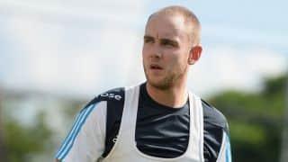 Stuart Broad apologises for Twitter gaffe