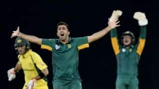 Tabraiz Shamsi: I firmly believe I will do something special at the World Cup