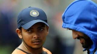Prithvi Shaw dope case force BCCI to bow down before NADA, says BCCI officials