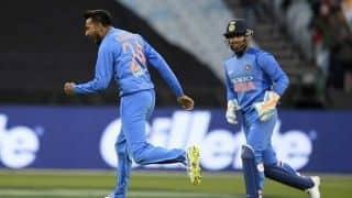 Krunal Pandya registers best figures by a spinner in Twenty20 Internationals in Australia