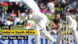 Highlights, India vs South Africa, 2nd Test, Day 2 at Centurion: India trail by 152 runs