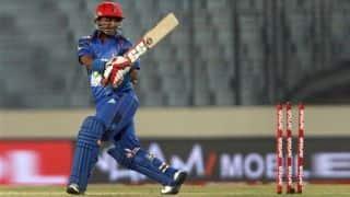 ICC विश्व कप से बाहर हुए अफगानिस्तान के मोहम्मद शहजाद