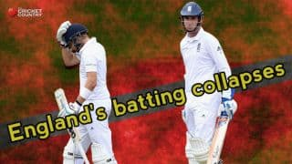 England's batting collapses: A worrying trend since Ashes 2013-14