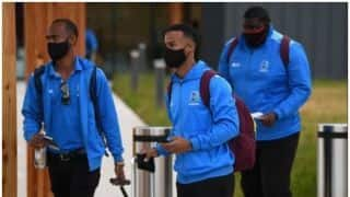 West Indies team reached England to play test series amid COVID-19 Pandemic