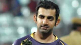 Gautam Gambhir backs fielders after victory