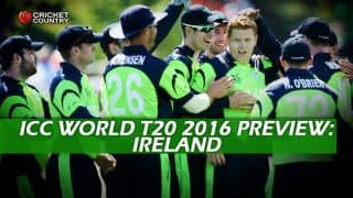 Ireland Team in ICC T20 World Cup 2016, Preview: Blend of young and experienced look for Super-10 ticket