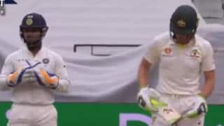 WATCH: Rishabh Pant gives it back to Tim Paine; Calls him 'temporary captain'