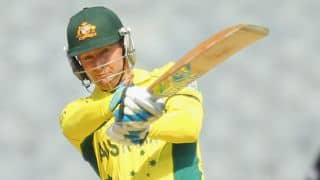Australia score 100 against New Zealand in ICC Cricket World Cup 2015 final