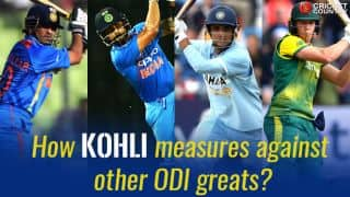 How Virat Kohli measures against Sachin Tendulkar, AB de Villiers and other greats ahead of 200th ODI?