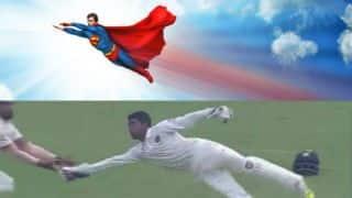 सुपरमैन बनकर रिद्धिमान साहा ने लिया ये असंभव कैच