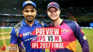 RPS vs MI, IPL 2017 Final, preview and likely XIs: Hyderabad gears up for the Maratha war