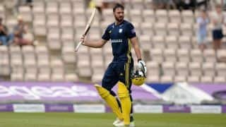 James Vince takes Hampshire to Royal London One-Day Cup final