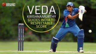 India Women post 182/9 against New Zealand Women in third ODI at Bangalore; Veda Krishnamurthy stars with fifty