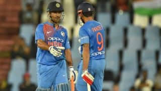 Manish Pandey: MS Dhoni is the best when he bats lower down the order