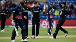 Champions Trophy 2017: Kane Williamson, New Zealand fined for slow over-rate against England