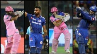 राजस्थान-मुंबई मुकाबले में जोस बटलर, हार्दिक पांड्या पर रहेगी नजर