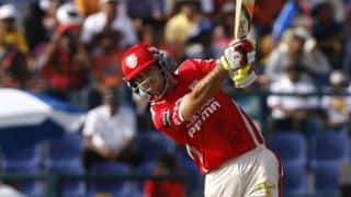 Rajasthan Royals (RR) vs Kings XI Punjab (KXIP), IPL 2014: Glenn Maxwell keeps Punjab in the hunt