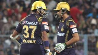 Kolkata Knight Riders off to a solid start against Sunrisers Hyderabad in IPL 2015, Match 38 in Kolkata