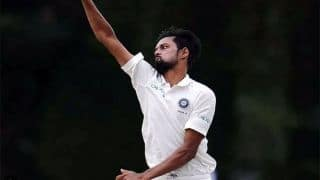 Kuldeep, Nadeem combine to hand India A control over South Africa A