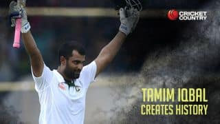Tamim slams double ton against Pakistan in 1st Test; registers top score for Bangladesh