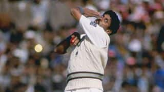 VIDEO: Kapil Dev bowls his first ball in Test cricket in 1978