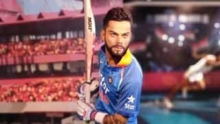 Virat Kohli's wax statue at Madame Tussauds unveiled