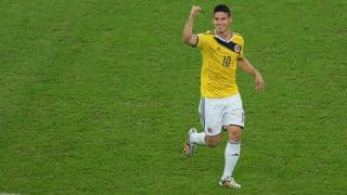 Rodriguez helps Colombia to reach quarter-finals
