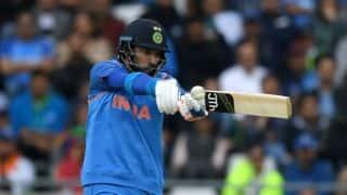 India vs West Indies: Yuvraj Singh seen wearing Champions Trophy jersey in 2nd ODI
