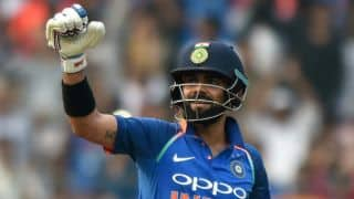 Kohli named Wisden Men's Cricketer of the Year