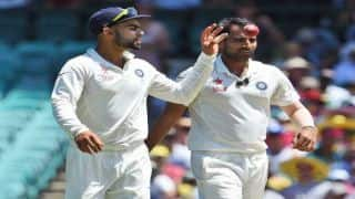 Kohli: Shami 'complete package' as fast bowler